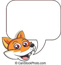róka, párbeszéd