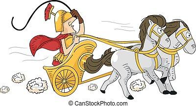 római, versenyszekér