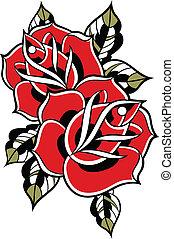rózsa, ábra