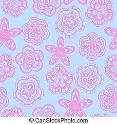 rózsaszínű, befűz, motívum, seamless, háttér, menstruáció
