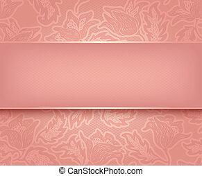 rózsaszínű, befűz