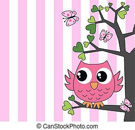 rózsaszínű, csinos, kevés, bagoly