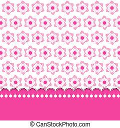 rózsaszínű, csinos, virágos, háttér