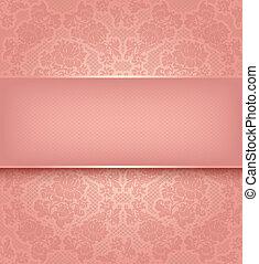 rózsaszínű, díszítő, befűz, háttér, menstruáció, sablon