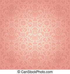 rózsaszínű, díszítő, befűz, háttér, sablon, menstruáció