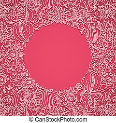 rózsaszínű, díszítő, kártya