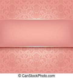 rózsaszínű, díszítő, szerkezet, 10, eps, vektor, háttér, texture.