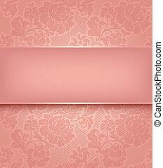 rózsaszínű, díszítő, wallpaper., befűz, háttér, menstruáció