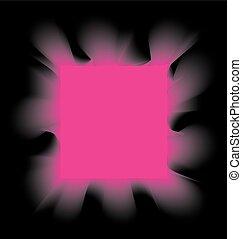 rózsaszínű, derékszögben, black dohányzás, háttér