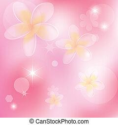 rózsaszínű, elvont, vektor, menstruáció, háttér