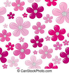 rózsaszínű, motívum, menstruáció, seamless