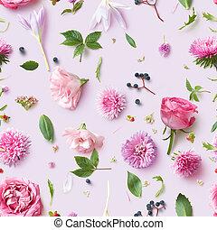 rózsaszínű, motívum, menstruáció, tapéta, seamless