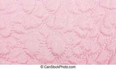 rózsaszínű, paplan, háttér