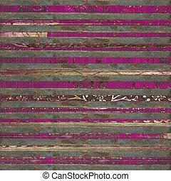 rózsaszínű, rács, erdő, felcsavar, háttér