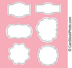 rózsaszínű, románc, fehér, elnevezés, háttér