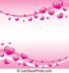rózsaszínű, valentines, háttér