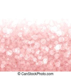 rózsaszínű, vibráló, állati tüdő, bokeh, piros háttér, vagy, elmosódott