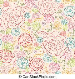 rózsaszín rózsa, seamless, háttér példa