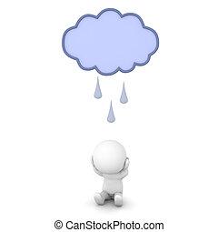 raincloud, lehangolt, betű, felül, őt, 2682, 3