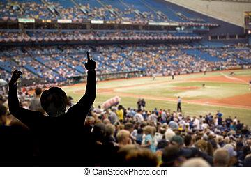 rajongó, baseball