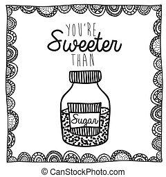 rajz, cukor