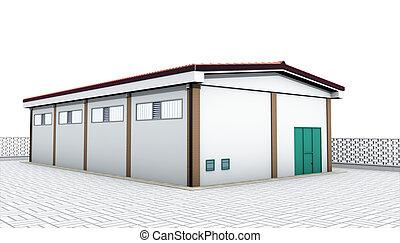 raktárépület, ipari