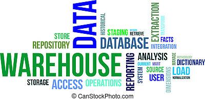 raktárépület, szó, -, felhő, adatok