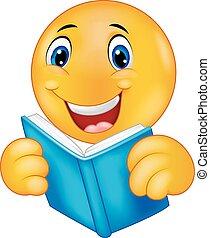 readi, boldog, karikatúra, smiley, emoticon
