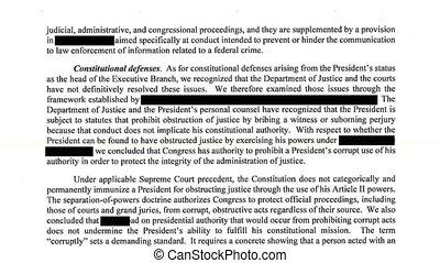 redacted, kormányzat vádirat