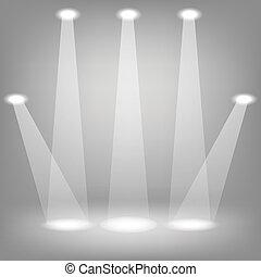 reflektorfény, fokozat