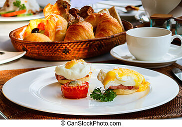 reggeli, finom