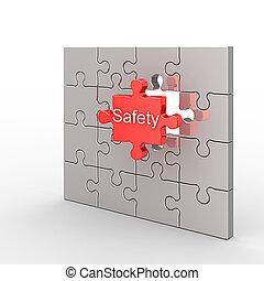 rejtvény, biztonság