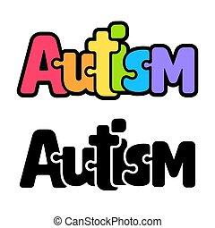 rejtvény, szivárvány, autism, szöveg