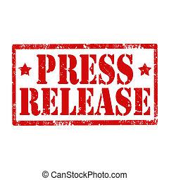 release-stamp, sajtó