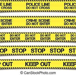 rendőrség, figyelmeztet, magnószalag
