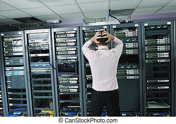 rendszer, szoba, elmarad, hálózat, helyzet, ministráns