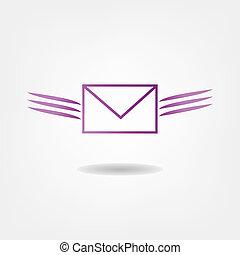 repülés, levél