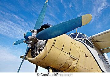 repülőgép, öreg