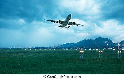 repülőgép, elmúlt