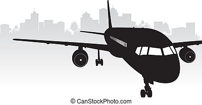 repülőgép, háttér