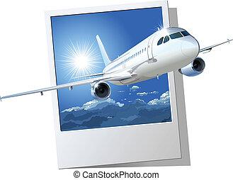 repülőgép kereskedelmi