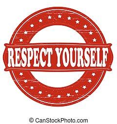 respektál, magad