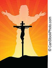 resurected, krisztus, jézus