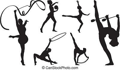 rhythmic gymnastics, berendezés