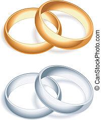 rings., esküvő