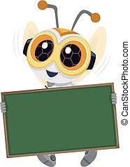 robotika, bizottság, ábra, méh