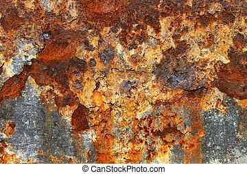 rozsdaszínű fém, struktúra, 05