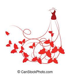 ruha, esküvő, tervezés