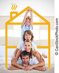 sárga, birtoklás, drawi, móka, család