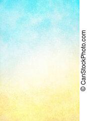 sárga háttér, kék, hi-key